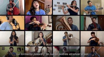Estudiantes de Bellas Artes lanzan Volveremos a empezar en solidaridad a los mexicanos en confinamiento