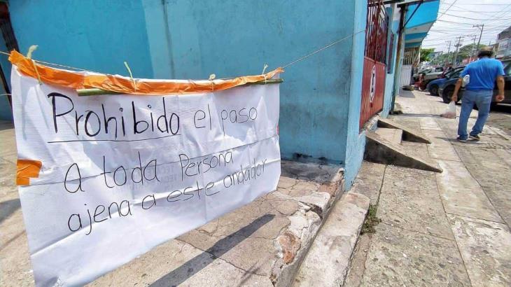 Cierran el paso a personas ajenas en callejón de Tamulté de las Barrancas