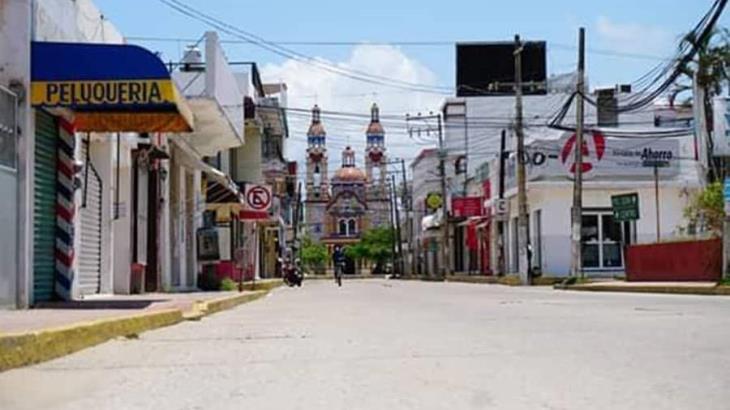 Deciden 5 municipios de Tabasco parar la actividad comercial, para evitar contagios de COVID-19