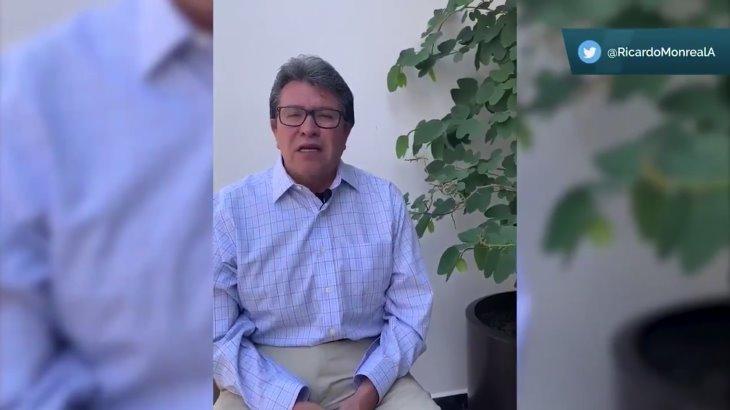 Descarta Ricardo Monreal que el Senado de mayores facultades al INEGI para medir concentración de riqueza
