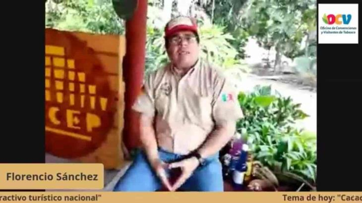 Recomienda chocolatero a turistas visitar Tabasco de enero a abril