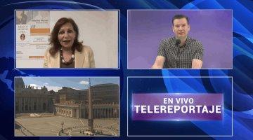 Después de 2 meses reabre plaza de San Pedro: Valentina Alazraki