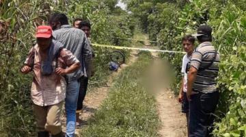 Localizan cuerpo de hombre asesinado con arma blanca en Cunduacán