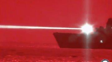 Armada de EEUU utiliza sistema de láser como arma para derribar drones