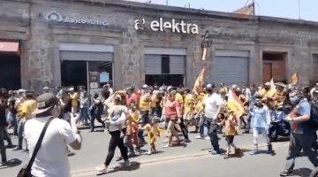 Protesta afición del Morelia por cambio de sede de su equipo