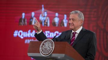 Insiste López Obrador en que ´ya vamos de salida´ de la pandemia en el país
