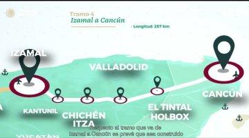 Anuncia AMLO que el próximo mes se licitará el tramo 5 del Tren Maya