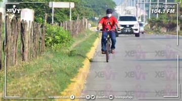 Propone Evaristo usar vía Méndez y 27 de Febrero para ciclovías durante la pandemia