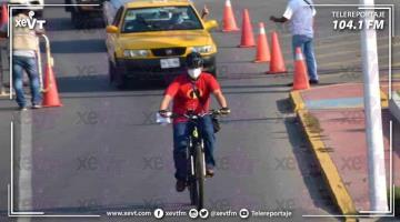 Propone Evaristo a Salud y SEMOVI la vía Méndez y 27 de febrero para ciclovías durante pandemia