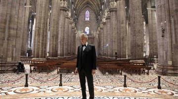 Andrea Bocelli revela que tuvo covid-19; dona plasma