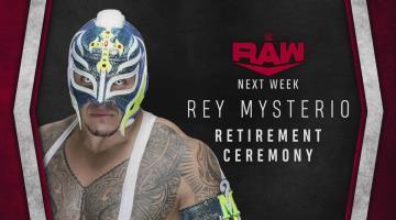 Organizarán evento de retiro a Rey Mysterio en la WWE