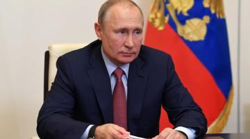 Asegura Vladimir Putin que ya pasó el pico de la pandemia... en Rusia