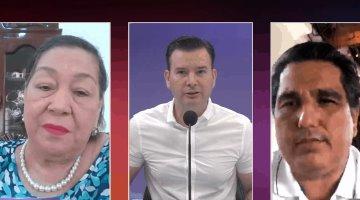 Nydia Naranjo y Dagoberto Lara liman asperezas por supuestos insultos a mujeres