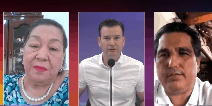 """Dirimen Nydia Naranjo y Dagoberto sus diferencias sobre """"presuntos"""" insultos a las mujeres"""