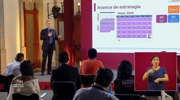 Acumula México 87 mil 512 casos positivos de coronavirus y 9 mil 779 defunciones