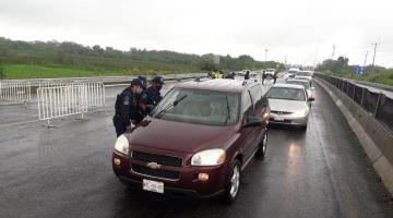 Pide SSPC a policías no bajar la guardia en filtros sanitarios