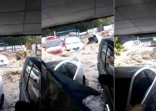 Lluvias causan daños en viviendas y vehículos en El Salvador
