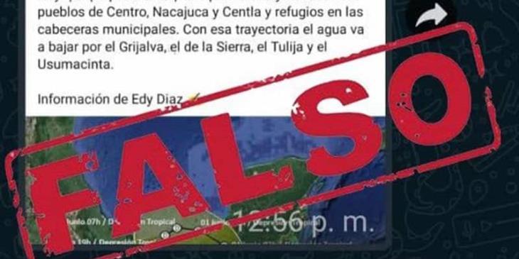 Señala Gobierno Estatal a Andrés Granier de difundir información falsa sobre inundaciones en Tabasco