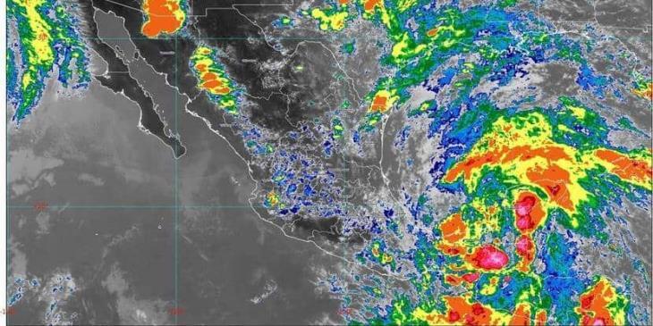 """Se forma la depresión tropical """"tres"""" en el golfo de México; CONAGUA espera lluvias fuertes en Tabasco"""
