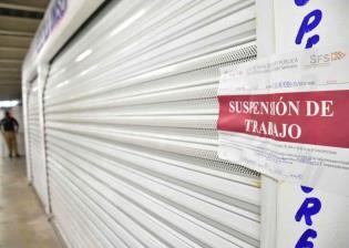 Suspende Salud actividades por 15 días a comercios no esenciales del mercado Pino Suárez