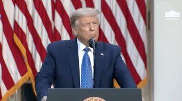 Moviliza Donald Trump unidades militares para terminar con los disturbios en su país