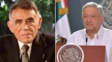 Envía Andrés Manuel condolencias tras la muerte de Héctor Suárez