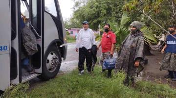 """Inicia en Tabasco evacuación de familias ante paso de la tormenta tropical """"Cristóbal"""""""