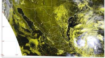 """Se enfila """"Cristóbal"""" hacia Campeche; se mantiene la alerta roja en el noreste de Tabasco: Protección Civil"""