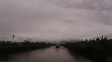 Se forman 7 vados en la Villahermosa-Teapa por fuertes lluvias: Protección Civil