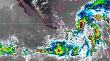 Lluvias fuertes en la Sierra y la Chontalpa, se esperan para Tabasco