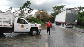 Reporta Protección Civil afectaciones por lluvias en 10 municipios; Balancán con más daños