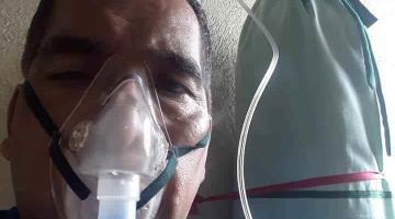 Enfrenta el comediante tabasqueño Julián Gallegos al COVID-19