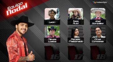 Tabasqueña entra a La Voz México y conquista a Christian Nodal
