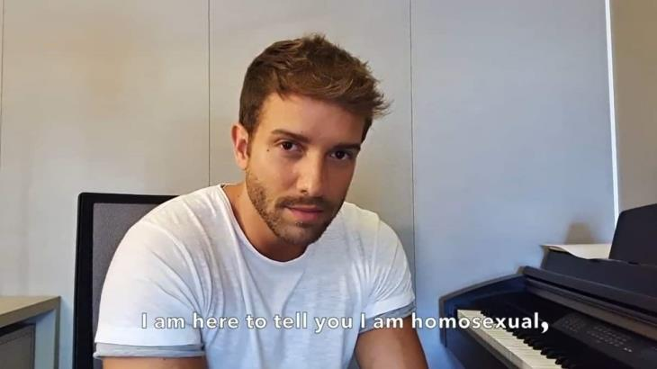 Pablo Alborán da a conocer que es homosexual