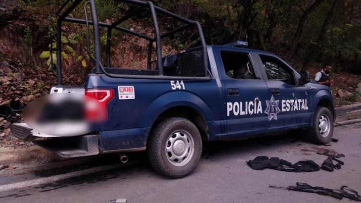 Emboscan a policías en Guerrero: 6 mueren y 5 resultan heridos