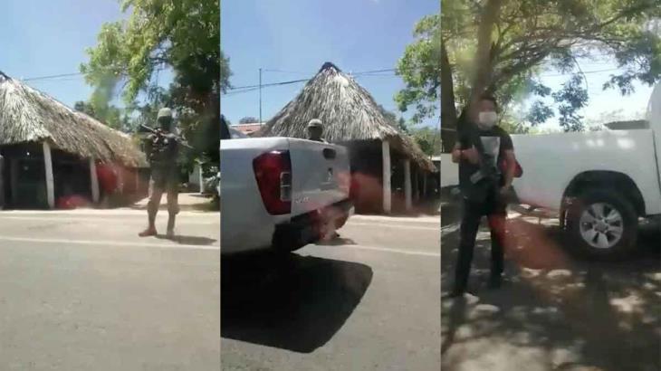 Reportan hallazgo de un arma y otros objetos en un domicilio en Paraíso
