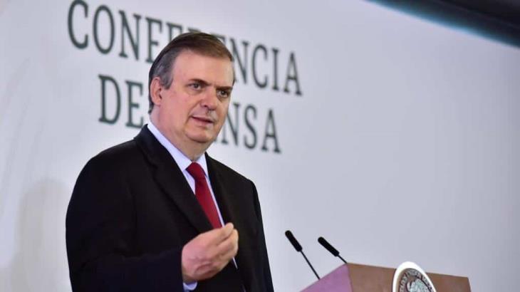 Sin definirse protocolo para entrada en vigor del T-MEC reconoce Marcelo Ebrard