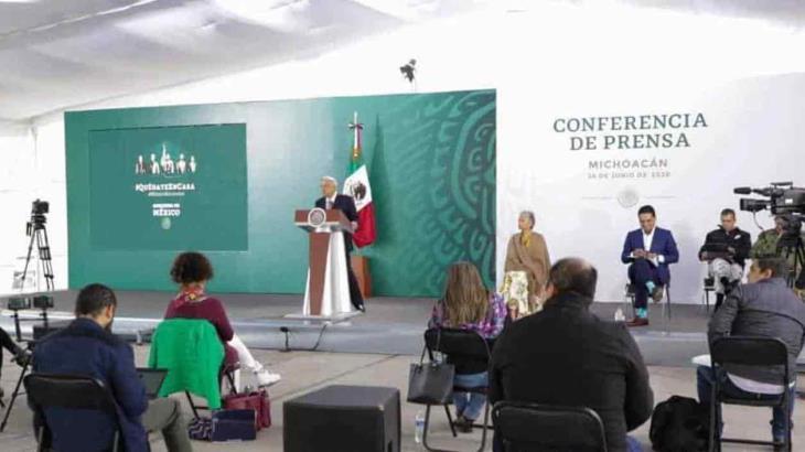 AMLO envía condolencias a familiares de militares accidentados, de muertos por pandemia y el sismo en Oaxaca