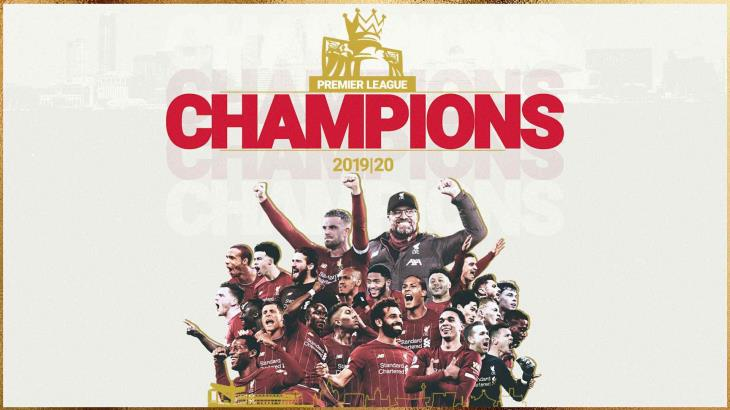 Liverpool, campeón de la Premier League tras 30 años de sequía