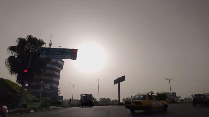 Polvo del Sahara deja mala calidad de aire en Tabasco: Protección Civil