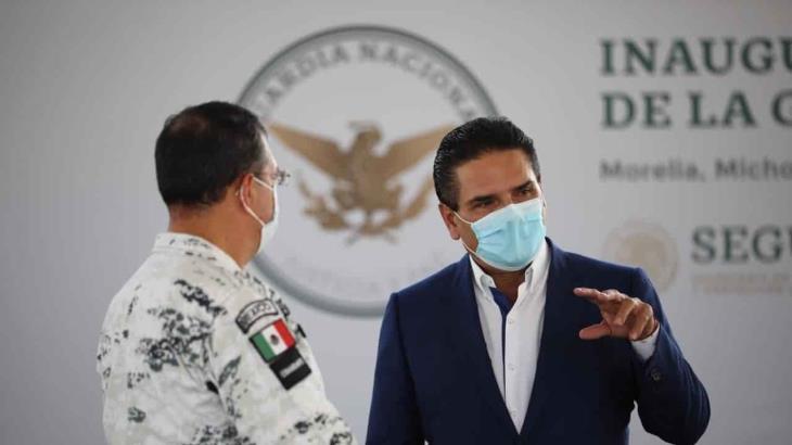 Controversia contra ley de Seguridad Interior no es contra AMLO ni fuerzas armadas, señala gobernador de Michoacán