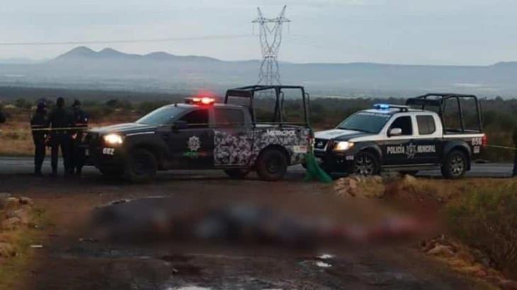 Localizan 14 cuerpos sin vida sobre carretera Zacatecas-Durango en el municipio de Fresnillo