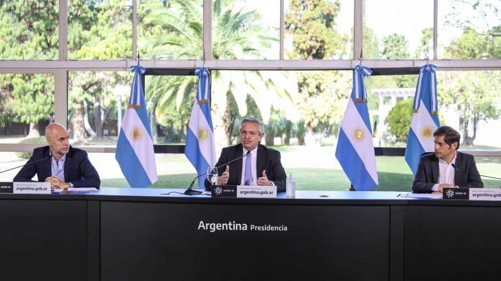 ´Somos dos los que queremos cambiar al mundo, AMLO y yo, dice el presidente de Argentina
