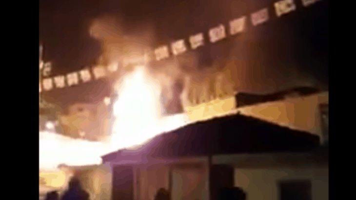 Causan destrozos de nuevo en Chiapas ante rumor de que fumigación contra el dengue esparce el COVID-19