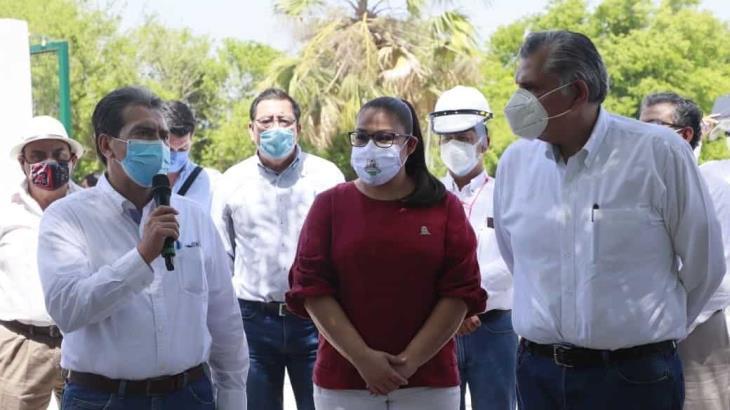 Compromete Gobierno de Tabasco y Ayuntamiento de Centro la pavimentación de 1.2 kilómetros en calles en la colonia Constitución