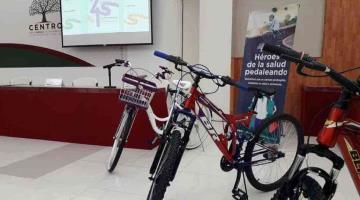Mañana vence plazo para aspirantes a beneficiarios de Héroes de la salud pedaleando