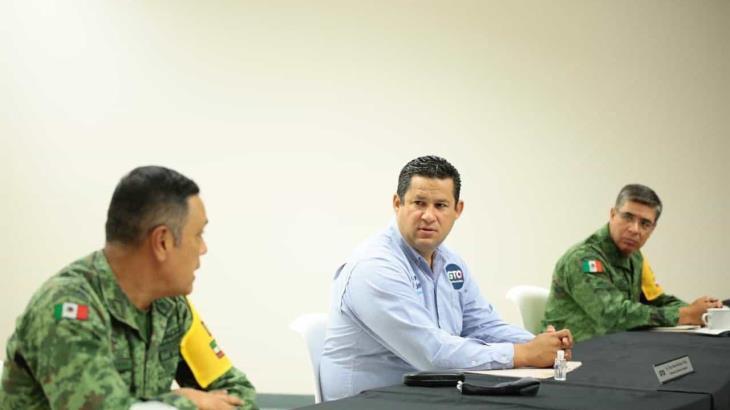Acusa gobernador de Guanajuato a AMLO de politizar el tema de seguridad de su estado