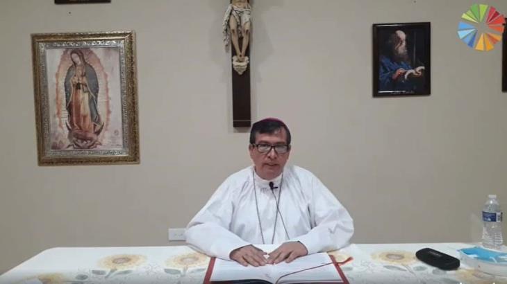 El amor, el negarse a sí mismo y la donación, son las tres virtudes de los discípulos de Cristo: Obispo