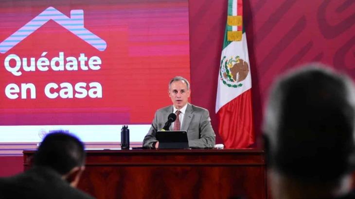 Previo a su visita a los Estados Unidos, si el presidente López Obrador no presenta síntomas no se le aplicará una prueba: López-Gatell