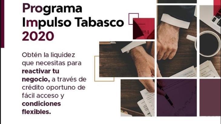 Más de 7 mil empresas registradas para el programa de créditos Impulso Tabasco: Sedec